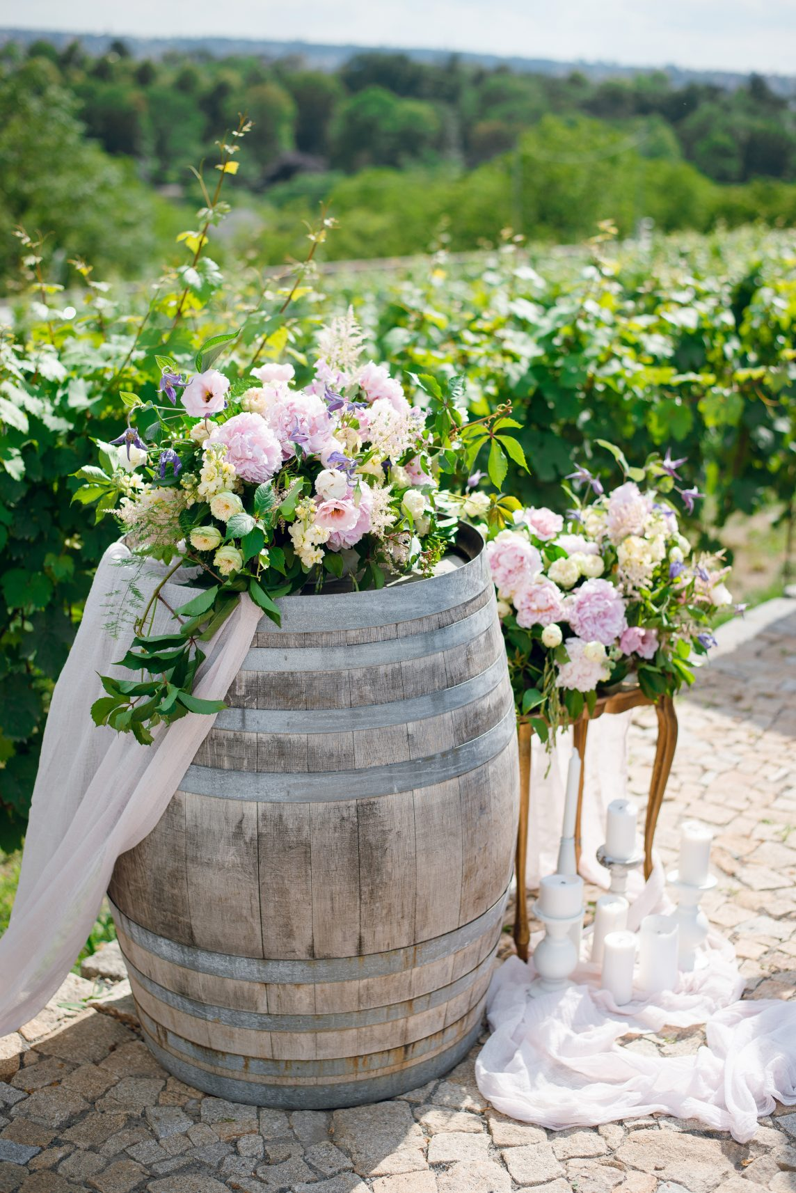 A Wine-themed Wedding